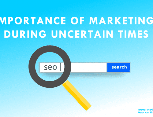 Importance of Marketing During Uncertain Times