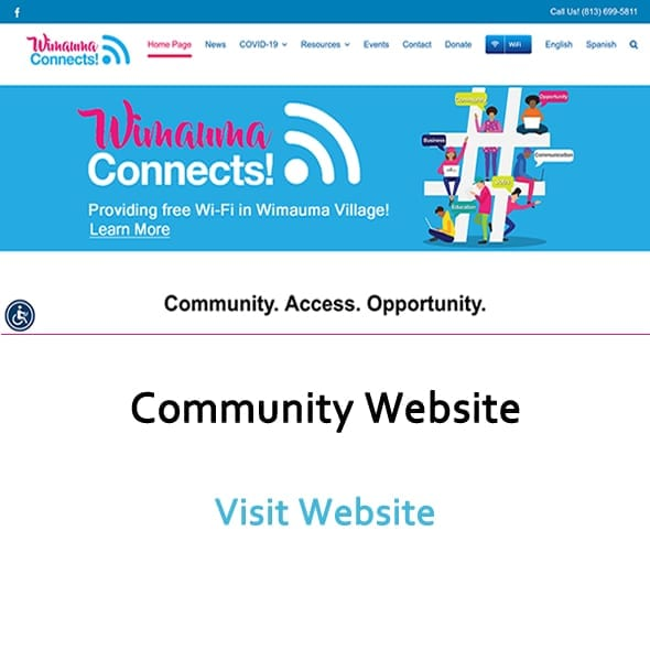 Image of Wimaiuma Connects Website